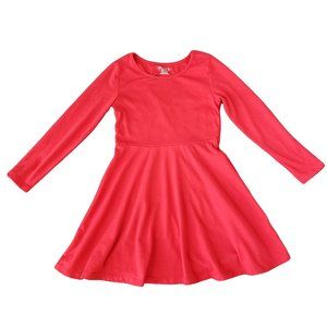PLACE Red Dress with Heart Cutout on Back S (5/6)